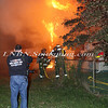 Copiague F D -Working Vacant House Fire 15 Saltaire Rd East 10-17-11-4