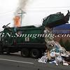 Lindenhurst Garbage Truck Fire-11