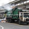 Lindenhurst Garbage Truck Fire-9