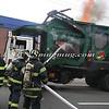 Lindenhurst Garbage Truck Fire-13