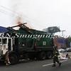Lindenhurst Garbage Truck Fire-10