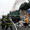 Lindenhurst Garbage Truck Fire-12