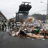 Lindenhurst Garbage Truck Fire-20