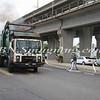 Lindenhurst Garbage Truck Fire-8