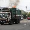 Lindenhurst Garbage Truck Fire-3