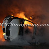 Lindenhurst Overturned Auto w- Vehicle Fire Park Ave  5-2-13-15