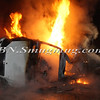 Lindenhurst Overturned Auto w- Vehicle Fire Park Ave  5-2-13-20