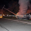 Lindenhurst Overturned Auto w- Vehicle Fire Park Ave  5-2-13-2