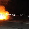 Lindenhurst Overturned Auto w- Vehicle Fire Park Ave  5-2-13-11