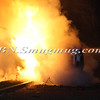 Lindenhurst Overturned Auto w- Vehicle Fire Park Ave  5-2-13-12