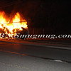 Lindenhurst Overturned Auto w- Vehicle Fire Park Ave  5-2-13-8