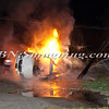 Lindenhurst Overturned Auto w- Vehicle Fire Park Ave  5-2-13-17