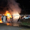 Lindenhurst Overturned Auto w- Vehicle Fire Park Ave  5-2-13-16