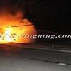 Lindenhurst Overturned Auto w- Vehicle Fire Park Ave  5-2-13-9