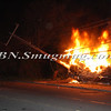 Lindenhurst Overturned Auto w- Vehicle Fire Park Ave  5-2-13-7