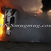 Lindenhurst Overturned Auto w- Vehicle Fire Park Ave  5-2-13-13
