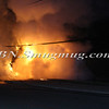 Lindenhurst Overturned Auto w- Vehicle Fire Park Ave  5-2-13-10