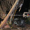 Manorville Car vs Pole Wading River Rd 2-14-12-2