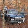Manorville F D  Car into Woods  Schultz Rd 1-17-12-7