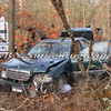 Manorville F D  Car into Woods  Schultz Rd 1-17-12-8