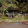 NAFCO Car into Woods Southern State Pkwy @ Exit 33  8-29-11-13