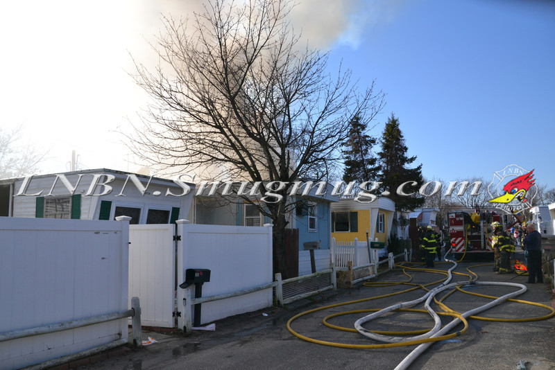 North Amityville Fire Company Working Fire 805 Broadway 1-7-12-1