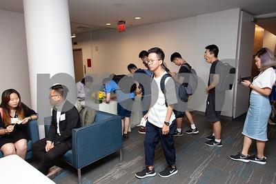 20180831 International Students Reception