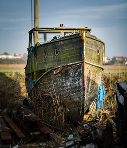 Characterful Old Boat