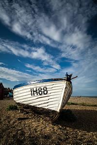 Boat, Beach, Sky