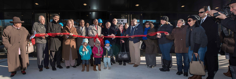 Sugar Hill Apartments Ribbon Cutting Ceremony