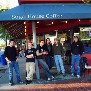 Sugar House Coffee coasters