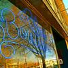 Blue Boutique Neon 16x24