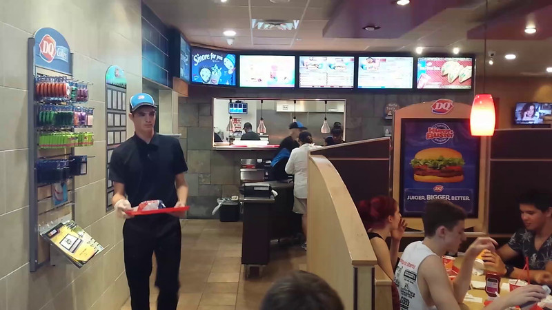 2014 Sharks Celebrate at Dairy Queen After a Great Win!