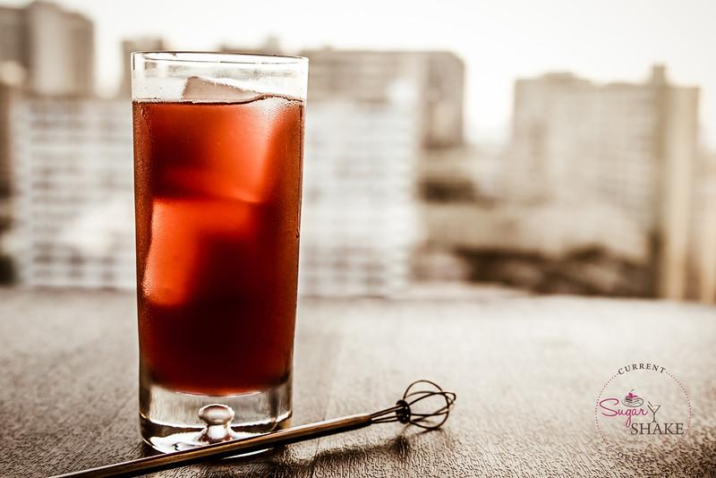 Pimm's Blackberry & Elderflower and Fentiman's Victorian Lemonade. © 2014 Sugar + Shake