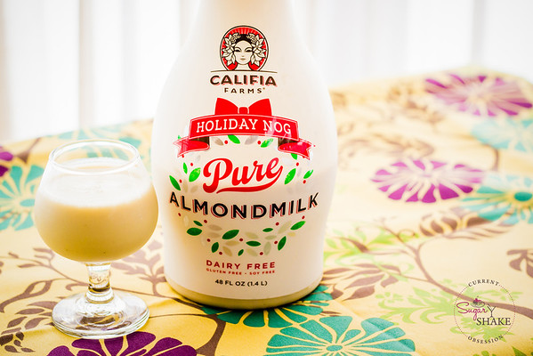 Current Obsession: Almond Milk Eggnog