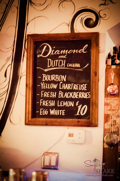 The Diamond & Dutch started out as a special. It's on the regular menu (for now). © 2013 Sugar + Shake