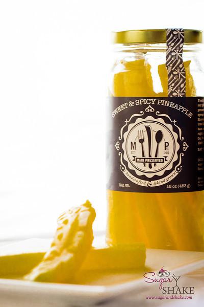 Maui Preserved Spicy Pineapple. © 2013 Sugar + Shake