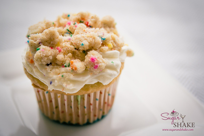 We needed actual baked goods for this shower, too. © 2014 Sugar + Shake