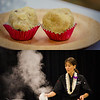 Previews from the Hawai'i Food & Wine Festival seminar, Sweet Endings with Christina Tosi and Michelle Karr-Ueoka. Christina Tosi made and served up Cake Truffles. Michelle Karr-Ueoka served up her version of a Fudgesicle, with three chocolate preparations. The seminar also covered dessert wines and liqueurs. © 2013 Sugar + Shake