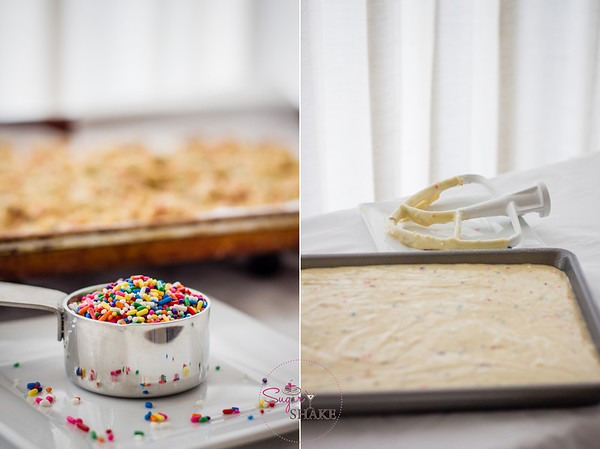 Sneak Peek: Rainbow Sprinkles + Cake Batter = Momofuku Milk Bar Birthday Cake. © 2013 Sugar + Shake