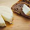 Sabrina, one of the Naked Cow sisters, said at the farmers' market when we picked up the cheese that the best way to enjoy the Big Cream Little Rind cheese was plain, on a crusty, multi-grain bread. © 2012 Sugar + Shake