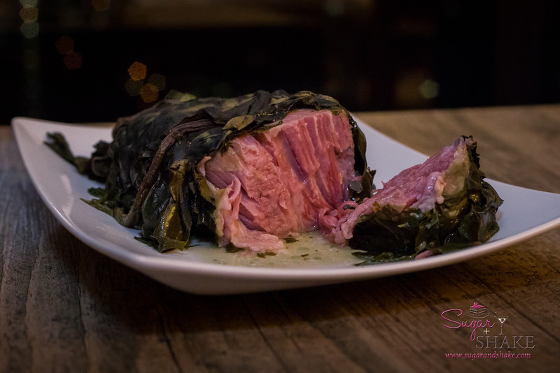 It may be called an Oven-Ready Deli Roll, but yeah, that is a laulau. © 2015 Sugar + Shake