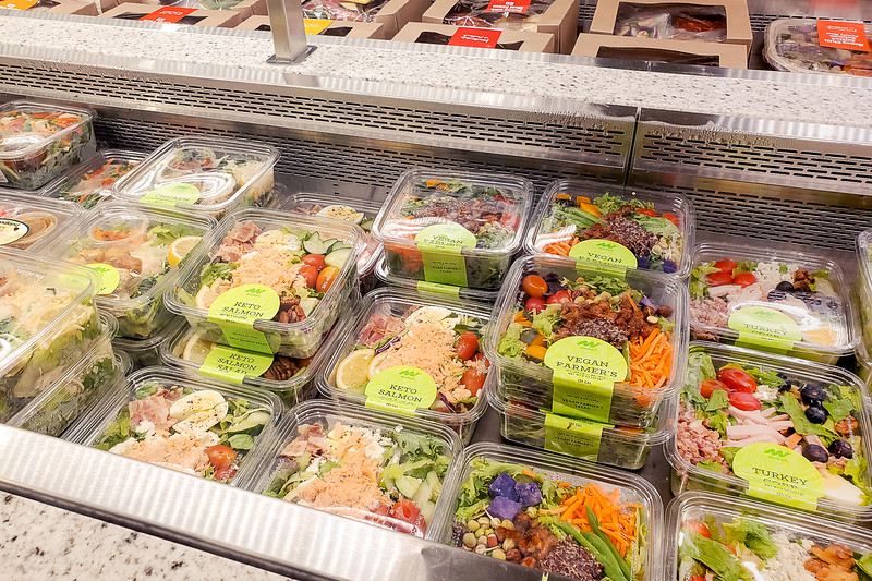 Allllll the salads. Available at Foodland Farms Ka Makana Aliʻi. © 2020 Sugar + Shake