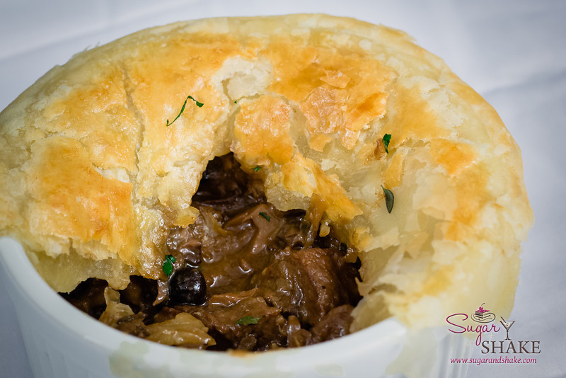 Beef & Mushroom Pot Pie. © 2013 Sugar + Shake