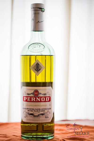 Pernod — an anise-flavoured liqueur. © 2013 Sugar + Shake