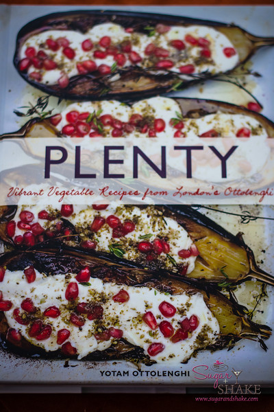 <i>Plenty: Vibrant Recipes from London's Ottolenghi</i> by Yotam Ottolenghi. Retail List Price: $35.00. 288 pages, padded hardcover. Chronicle Books; American edition (March 2011). ISBN: 978-1452101248.