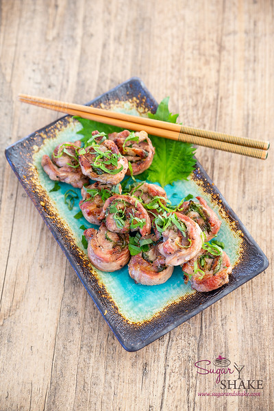 Shiso Pork Skewers from The 'Ohana Grill Cookbook