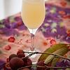 The Bridal Bouquet: St-Germain Liqueur, Jasmine Tea Vodka, X-RATED Fusion Liqueur, Hawaiian Honey Syrup, Champagne. © 2012 Sugar + Shake
