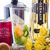Ingredients for Sugar's Rue Cler Cocktail.  © 2013 Sugar + Shake