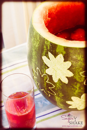 Okolehao Watermelon Punch. © 2013 Sugar + Shake